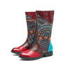 New Fashion Handmade Ethnic Style Leather Women's Boots