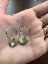 Load image into Gallery viewer, Ethiopian opal droplet earrings