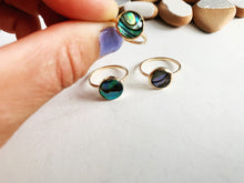 Load image into Gallery viewer, Ocean Abalone Rings