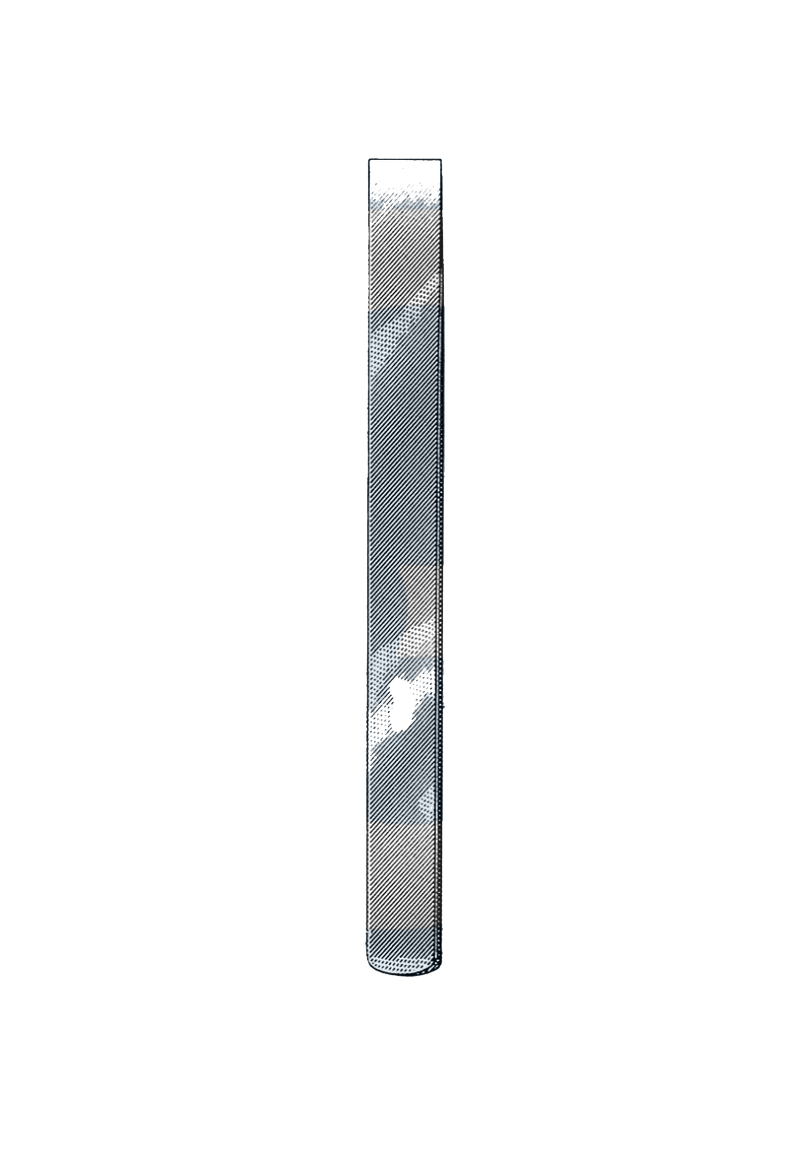 "Swiss Pattern Osteotome, 3 mm 5"" (12.5 cm) - Garana Industries"