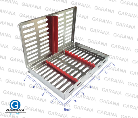 Sterilization Tray Cassettes Hold 10 Pcs
