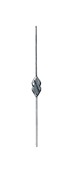 "Bowman Lacrimal Probe, Double Ended, Sterling Silver, 5"" (12.5 cm), Size 7/8"