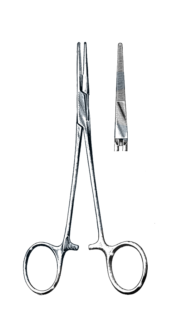 "Providence Hospital Forceps Straight 5 1/2"" (14 cm) - Garana Industries"