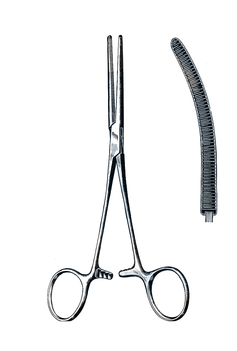 "Rochester-Pean Forceps Curved 8"" (20 cm) - Garana Industries"