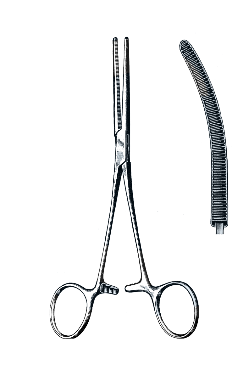 "Rochester-Pean Forceps Curved 9"" (23 cm) - Garana Industries"