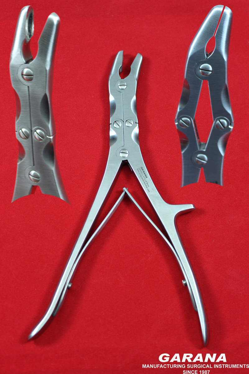 "Leksell Stille Bone Rongeur Forceps 9.5 "" 8MM, 240 MM"