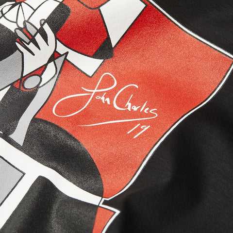 John Charles Designed ROGUE Graphic T-Shirts with Ultra Soft Finish - BLACK