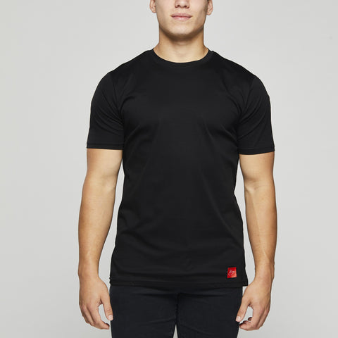 John Charles Designed T-Shirts with Ultra Soft Finish - BLACK