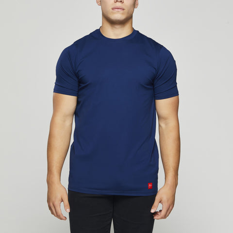 John Charles Designed T-Shirts with Ultra Soft Finish - BLUE