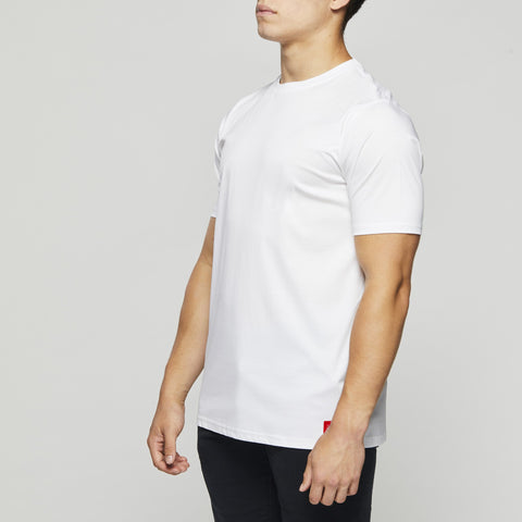 John Charles Designed T-Shirts with Ultra Soft Finish - WHITE