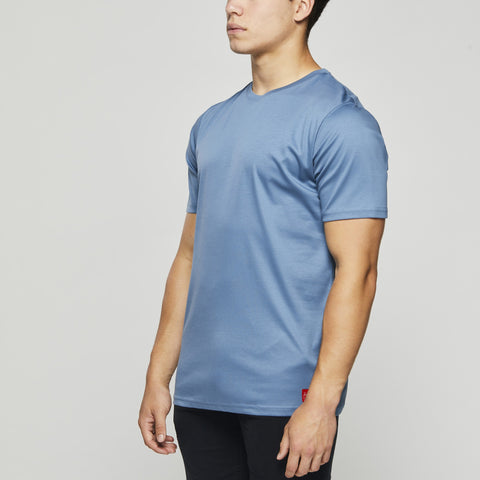 Luxury Classic Cotton – John Charles Designed T-Shirts with Ultra Soft Finish - BLUE