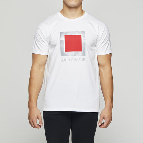 John Charles Designed REFLECT SKWARE Graphic T-Shirts - WHITE