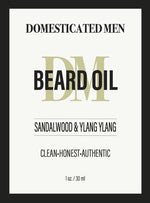 Beard Oil Sandalwood & Ylang Ylang