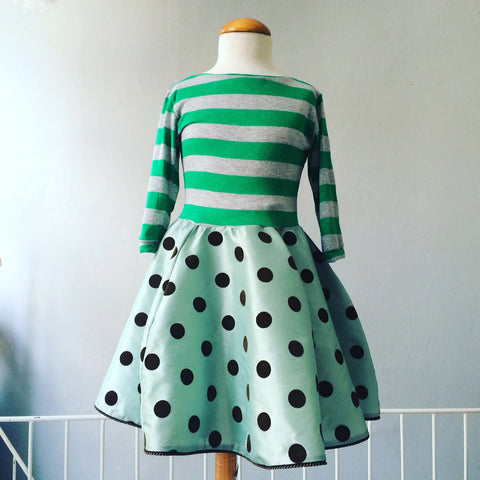 dress Clarissa green