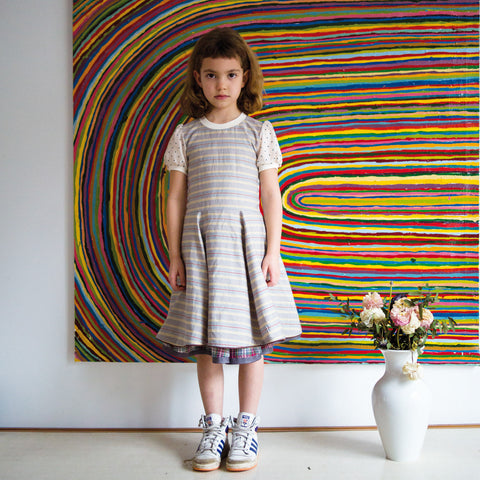 dress Clarissa stripes