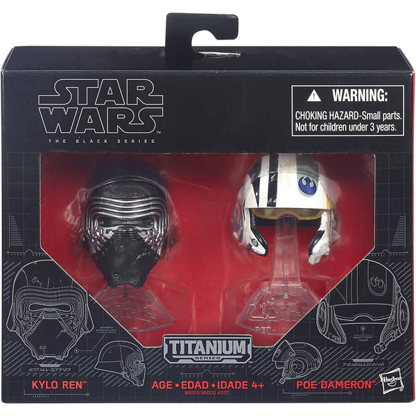 Star Wars: The Black Series Titanium Helmet #1 Kylo Ren And Poe Dameron