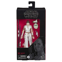 "Star Wars: The Black Series 6"" Rey And D-0"