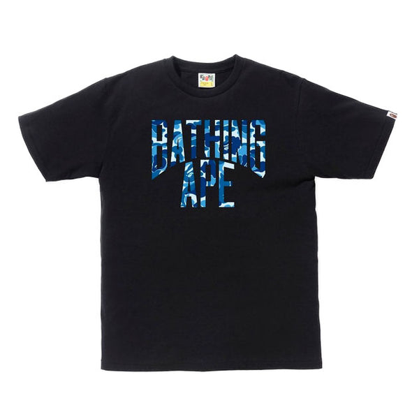 Blue ABC NYC Logo Tee Black