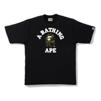 First Camo College Tee Black