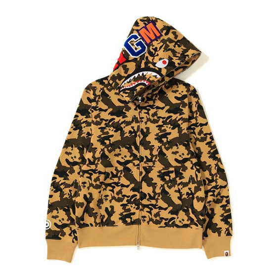 Desert Camo Shark Full Zip
