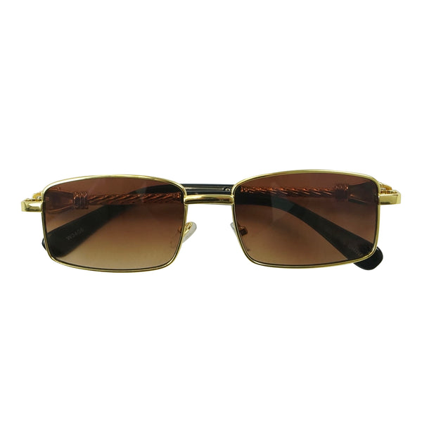 Rectangle Leopard Glasses