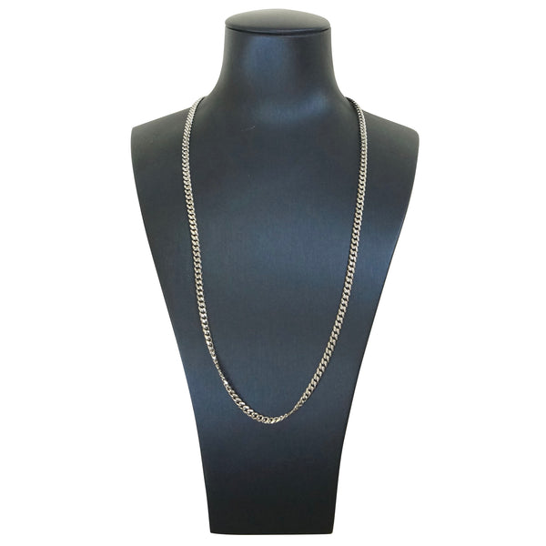 Cuban Chain Silver 20 inches