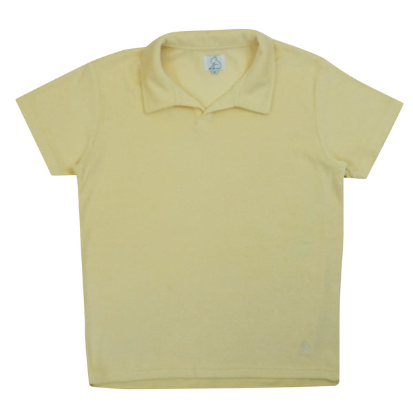 Terry Toweling Polo Vanilla