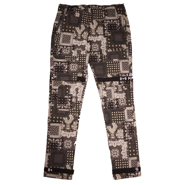Strapped Up Utility Pants Paisley