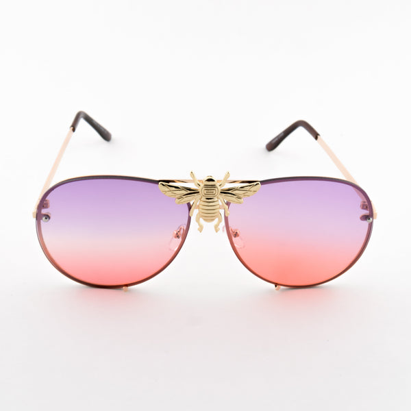 Golden Bee Glasses