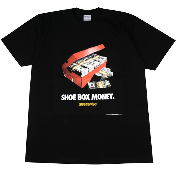 Shoe Box Tee Black