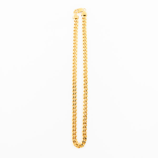 Chain Fat Cuban Chain 20inch Gold