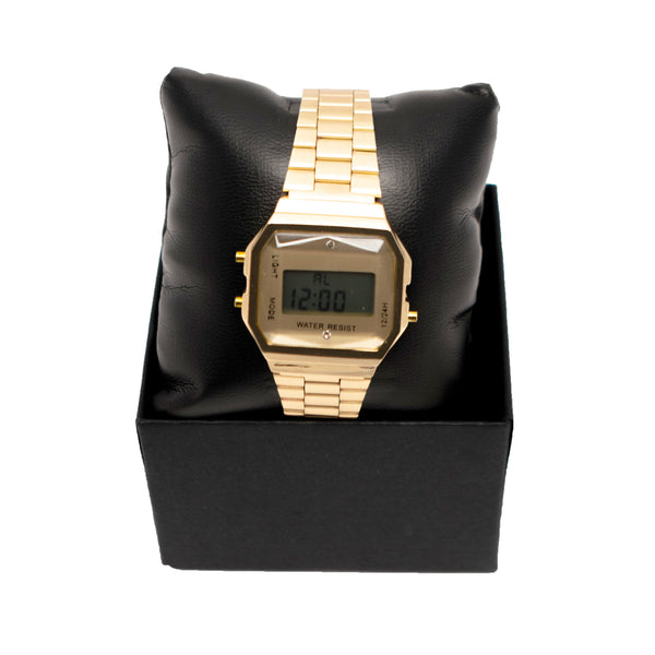 Gold Sport Watch
