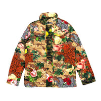 Knit Track Jacket Military Garden