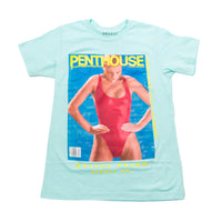 Penthouse Red Swimsuit Tee