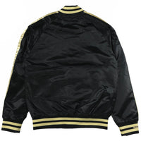 Raptors Satin Jacket Gold