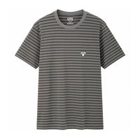 BFF Striped Tee Grey