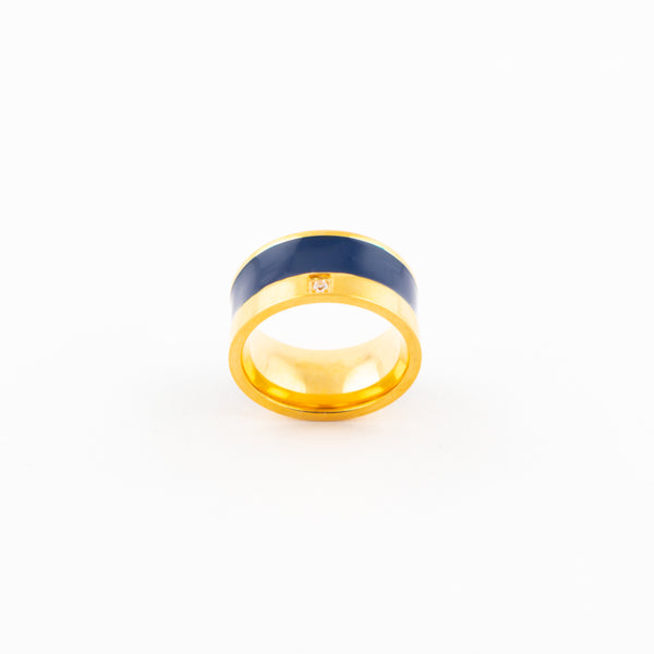Blue & Gold Ring