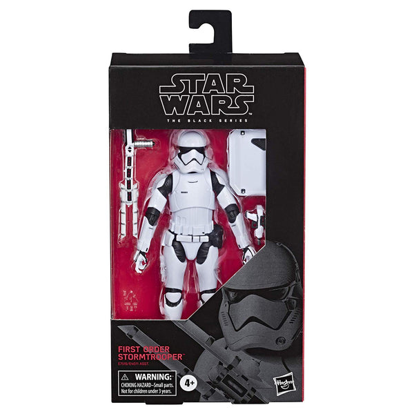 "Star Wars: The Black Series 6"" First Order Stormtrooper"