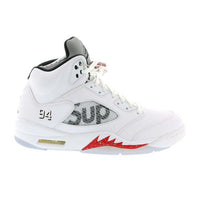 "Retro 5 ""Supreme White"""