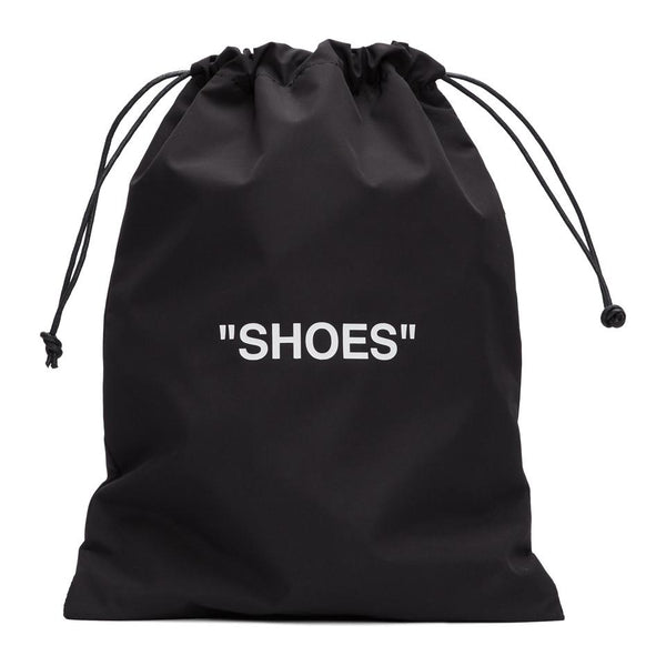 "Black & White ""Shoes"" Pouch"