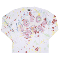 Ice Cream Stinger LS Knit Wht