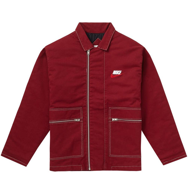 Nike Collab Jacket Burgundy