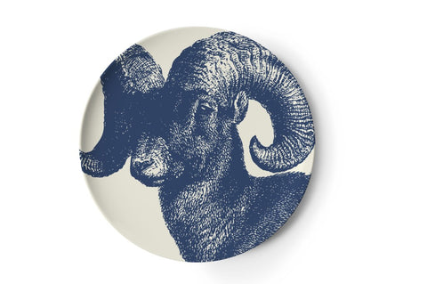 Aries zodiac coaster