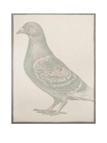 New York Pigeon tea towel