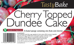 Dundee Cake - Cherry Topped