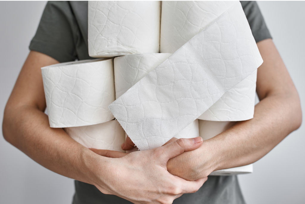 How was toilet paper invented