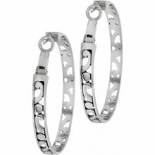 Load image into Gallery viewer, Contempo Large Hoop Earrings