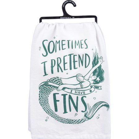 Mermaid Dishtowel