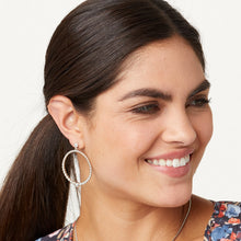 Load image into Gallery viewer, Meridian Petite Post Hoop Earrings
