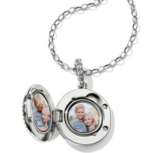 Load image into Gallery viewer, Twinkle Small Round Locket Necklace